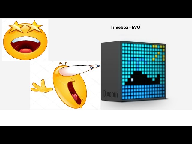 Unboxing: Divoom Timebox Evo Bluetooth speaker and LED animated extravaganza