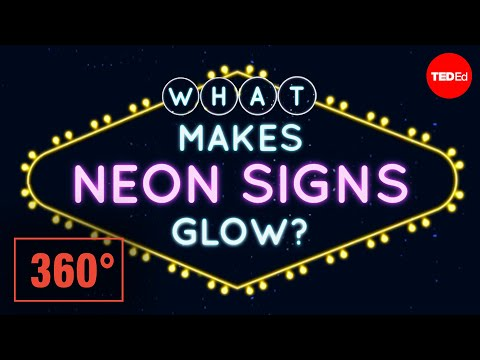 Video image: What makes neon signs glow? A 360° animation - Michael Lipman