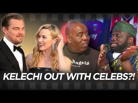 Kelechi Is Going To A Movie Premiere With Kate Winslett & Le