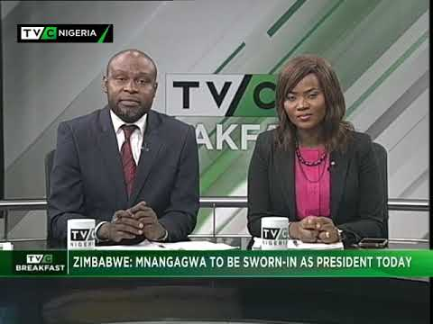 TVC Breakfast Nov. 24th | Mnangagwa sworn-in as Zimbabwe President