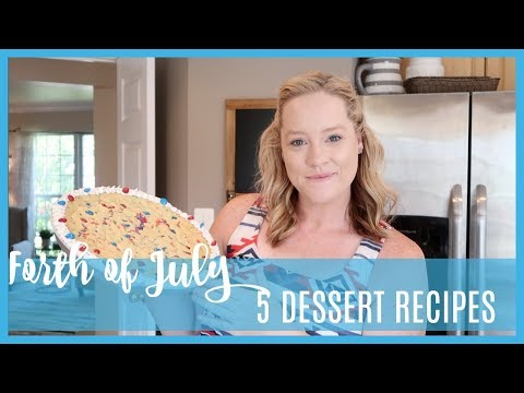 DIY 4TH OF JULY SWEET TREATS | IN THE KITCHEN | COLLAB