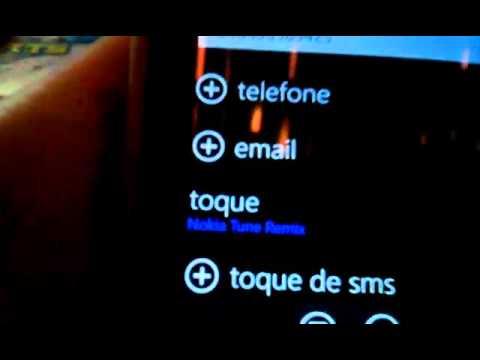Como colocar um toque para cada contato no smartphone Nokia Lumia windows phone