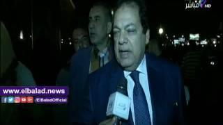 أبو العينين فى عزاء محمود عبد العزيز: 'فقدنا رجل عظيم'.. فيديو