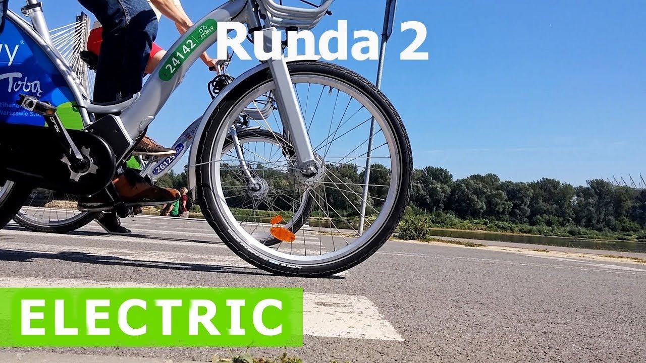 Test elektrycznych rowerów Veturilo / Test of electric city bikes in Warsaw!