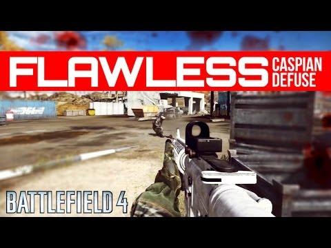 Caspian Border Flawless Defuse - Battlefield 4