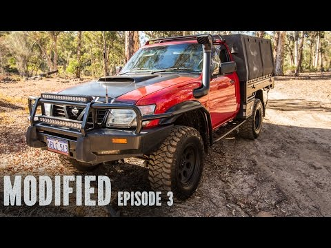 Modified TD42 GU Patrol Ute, Modified Episode 3