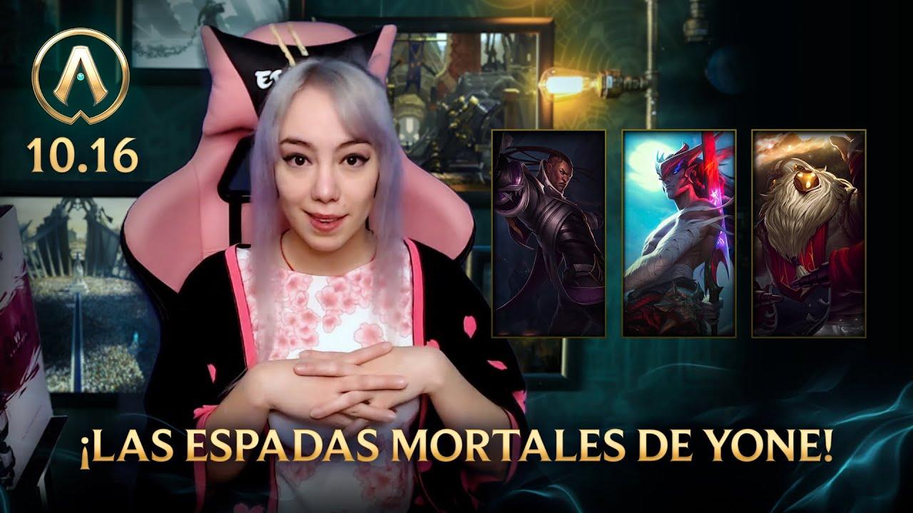 Actualizando LoL 10.16: ¡Las espadas mortales de Yone! / League of Legends
