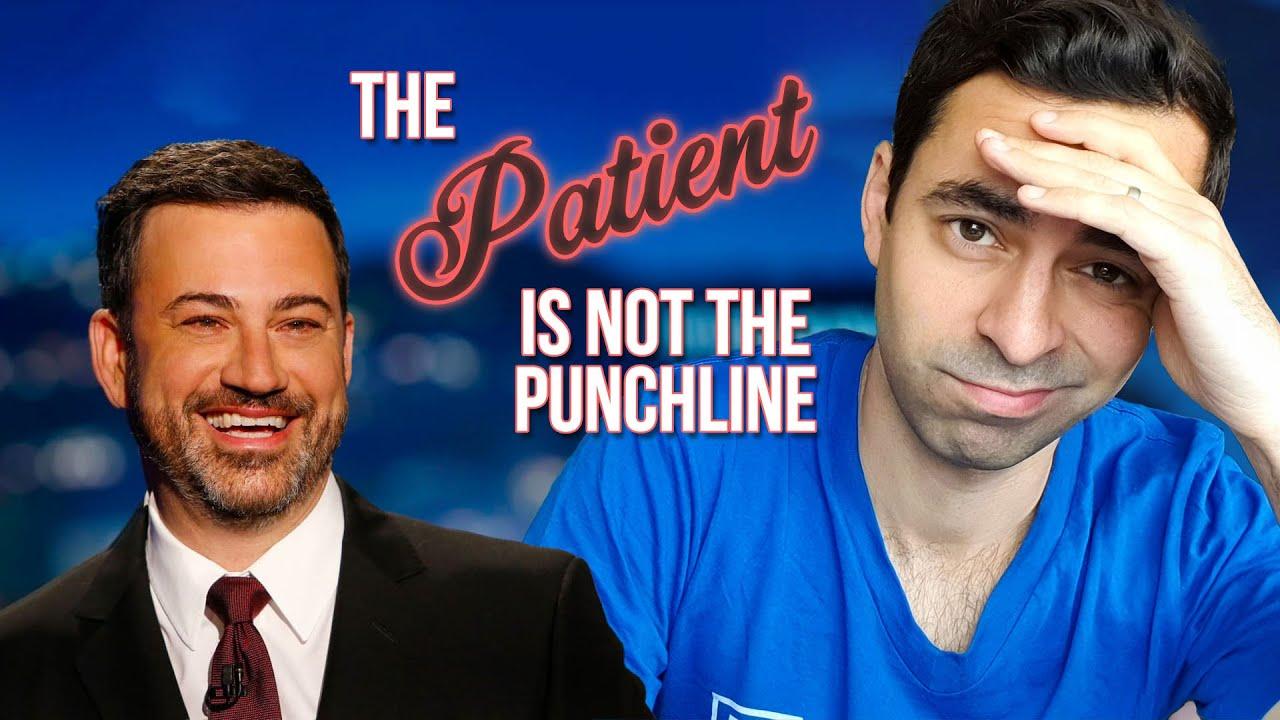 How NOT to do a vaccine PSA (Jimmy Kimmel fail)