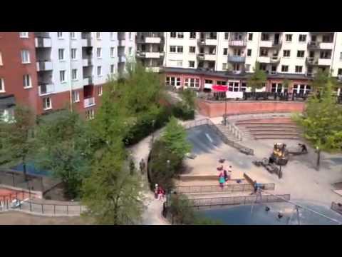 Stockholm playground by B&B