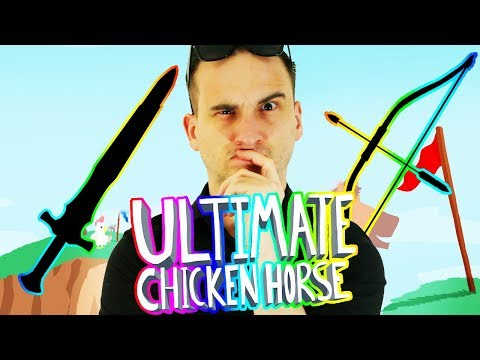 DOBRODZIEJ WYBIERA RZECZ CHALLENGE (CZĘŚĆ 1/2)   Ultimate Chicken Horse [#77] (With: EKIPA)