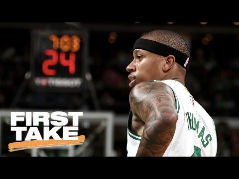 Boston Celtics Keeping Isaiah Thomas? | First Take | May 22, 2017