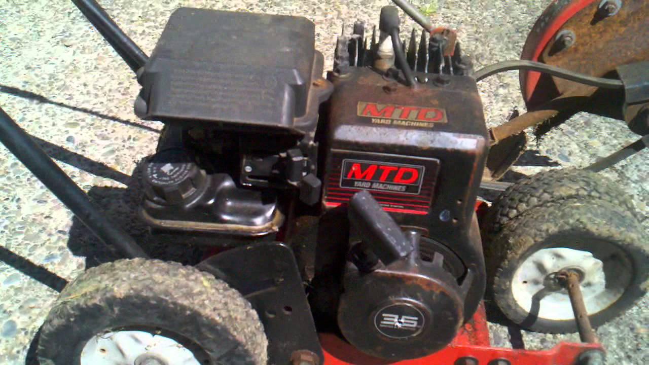 Walk behind lawn edger (manual start) | dr power equipment.