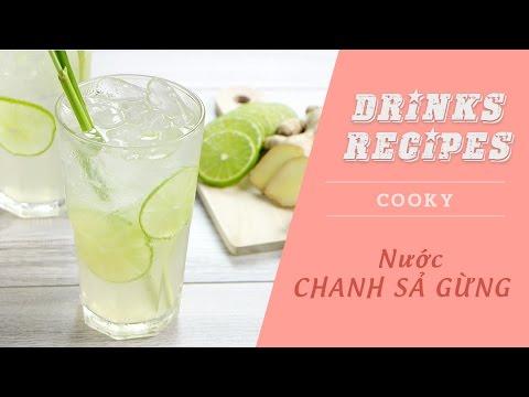 Cách nấu Nước chanh sả gừng - Cooky TV