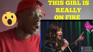 """Angelica Hale Singing """"Girl on Fire"""" - REACTION"""