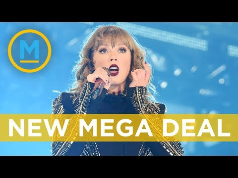 Taylor Swift signed new record deal with Universal Music Group | Your Morning
