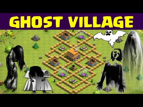Clash of Clans | GHOST VILLAGE | Or Its a Glitch | CoC