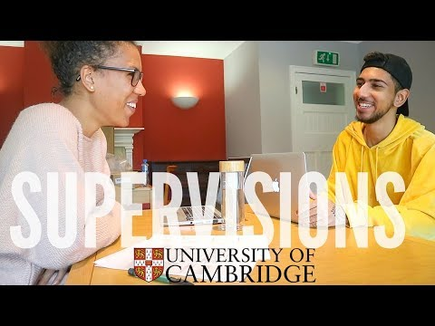 Meet My Cambridge University Supervisor & Experience a REAL Supervision (Q&A)