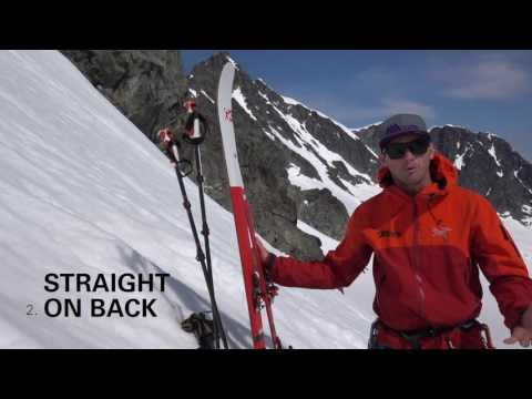 Four Ways to Carry Skis - Bootpacking Part 4