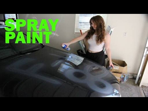 How To Paint Car With Spray Cans At Home Bahubali