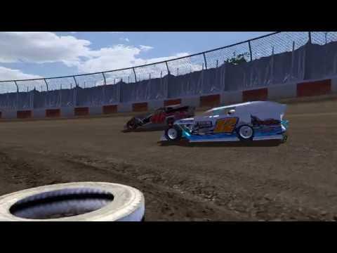 rFactor - Dirt Modifieds TDR/ODC - Thunderbowl Raceway