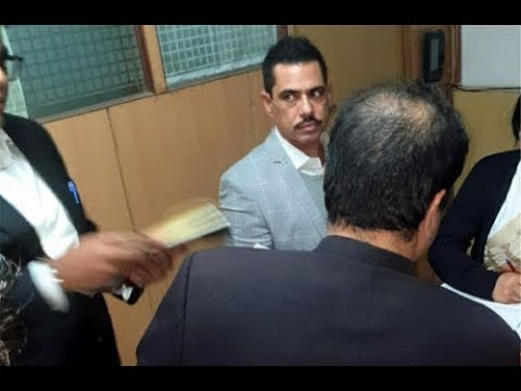 Robert Vadra appears before ED: All you need to know