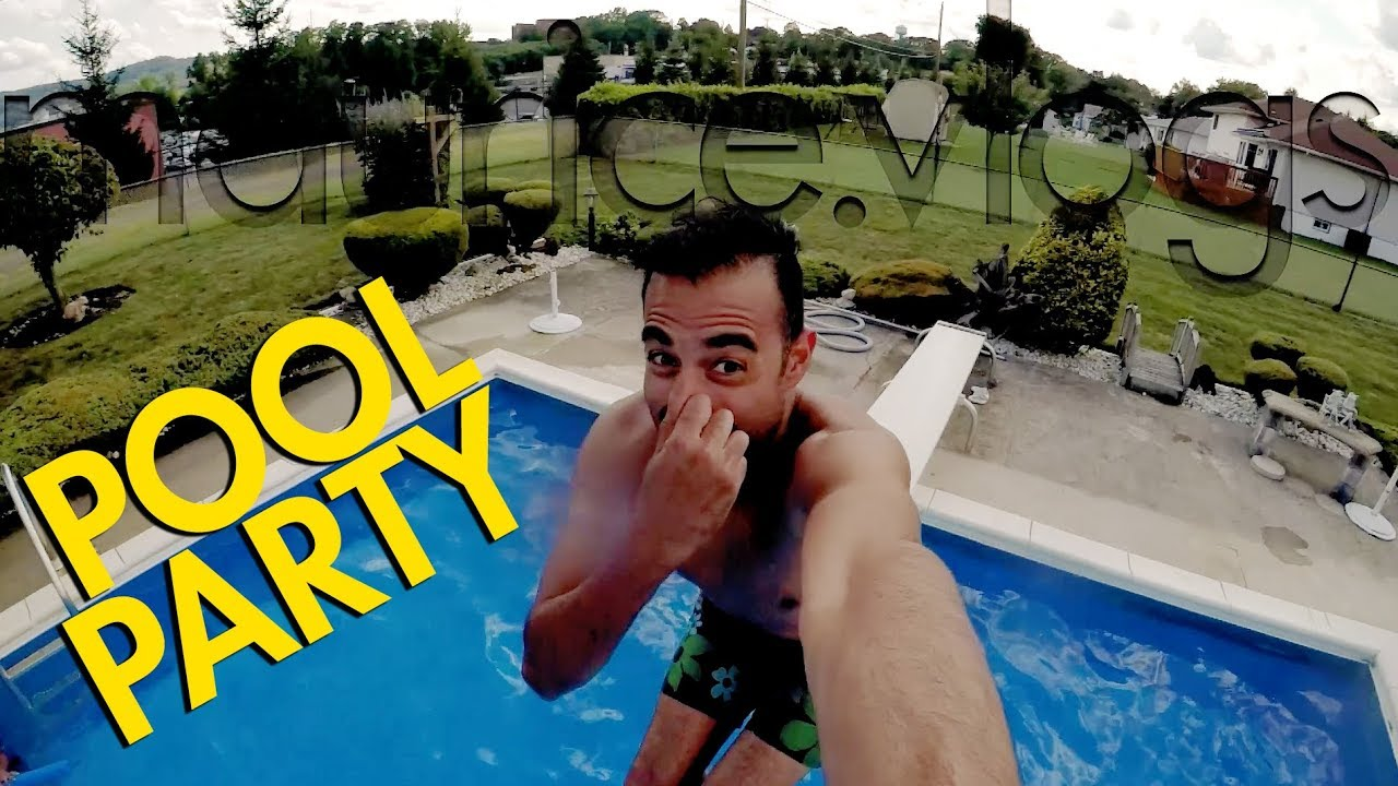 Pool party - YouTube