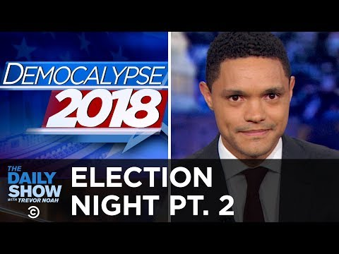 Trevor's Live Election Results from Key Races   The Daily Show