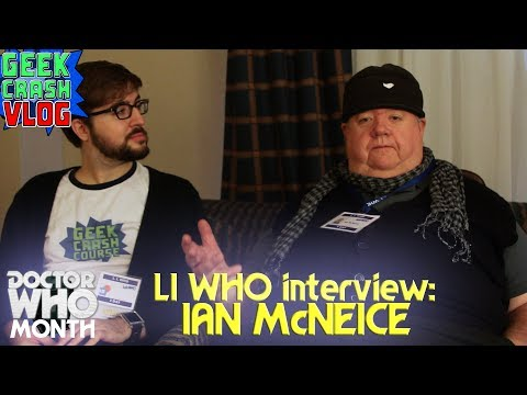 Ian McNeice Talks Winston Churchill, Dune, and More at LI WHO! - Geek Crash Course