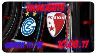 Fc GC Zürich vs Fc Sion (10.09.17)
