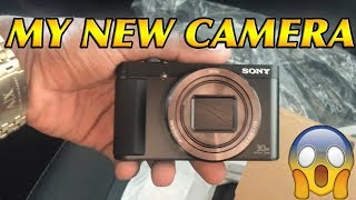 Video I BOUGHT MY VLOGGING CAMERA! (Sony Cyber-shot HX80 Compact Digital Camera ) download MP3, 3GP, MP4, WEBM, AVI, FLV Juli 2018