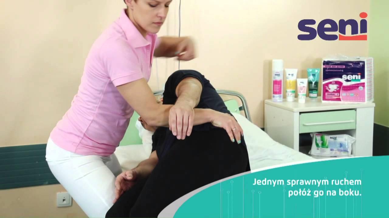 Pl 06 Przemieszczanie Pacjenta Z Pozycji Siedzącej Do Leżącej