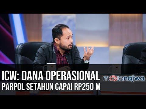 "Transaksi Haram Politik: ICW, ""Dana Operasional Parpol Setahun Capai Rp250 M"" (Part 6) | Mata Najwa"