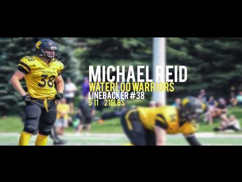 Michael Reid 2017 Sophomore Highlights