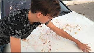 Yıkamacı Çocuk Arabamın İçine Etti!!   Arabam Pert