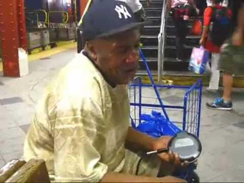 Daniel Small AKA Geechee Dan: 59th St ABCD Subway Station