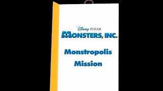 Monsters, Inc. Monstropolis Mission PC Gameplay