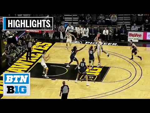 HIghlights: Garza Goes Off For 29 Points | North Florida At Iowa | Nov. 21, 2019
