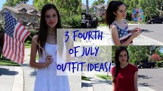 3 Fourth Of July Outfit Ideas! Thumbnail