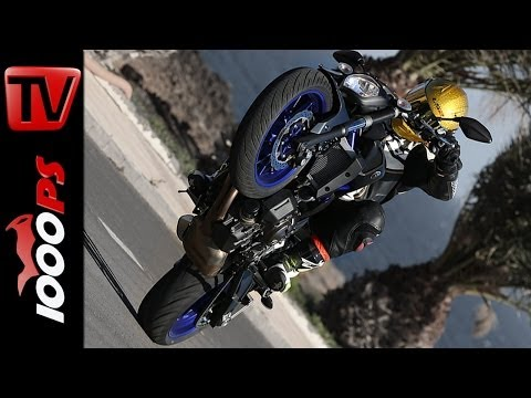 Test-Video | Yamaha MT-07 2014 | Action, Onboard, Details