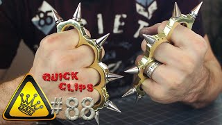 "QC#88 - Bullet Shell ""Brass Knuckles"""