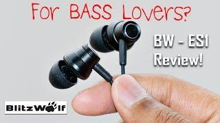 Video BlitzWolf BW-ES1 Earphones Review | Amazing Bass for 900Rs! download MP3, 3GP, MP4, WEBM, AVI, FLV Juni 2018