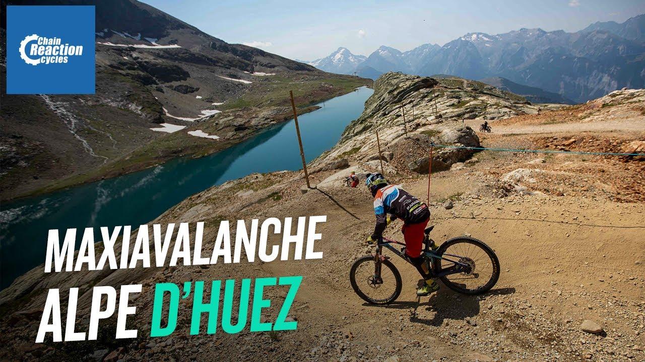 Maxiavalanche Alpe D'Huez - Highlights | CRC |