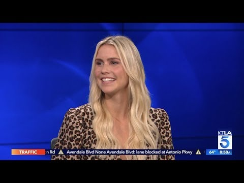 """Claire Holt On Her Newborn Baby & The New Movie """"A Violent Separation"""""""