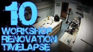 10. Workshop Renovation Timelapse 10 - Final Reveal 06 (wall Mounted Tools)