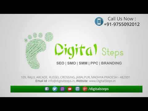DigitalSteps : Digital Marketing Company in Jabalpur, Bhopal, Indore, India