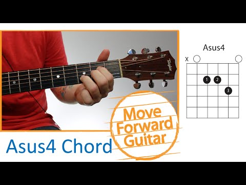Video - How To Play the Bsus2 Chord On Guitar (Suspended Chord)