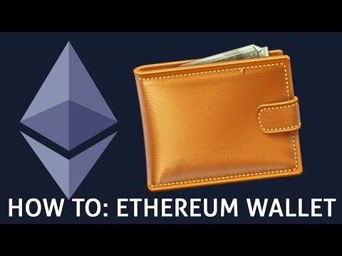 #1 how to setup an ethereum wallet | tutorial