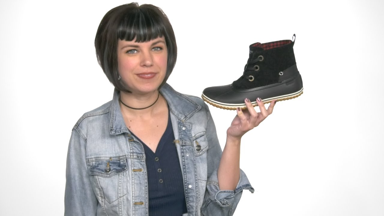 Sperry Top-Sider Schooner Lace Up Duck Boot Womens