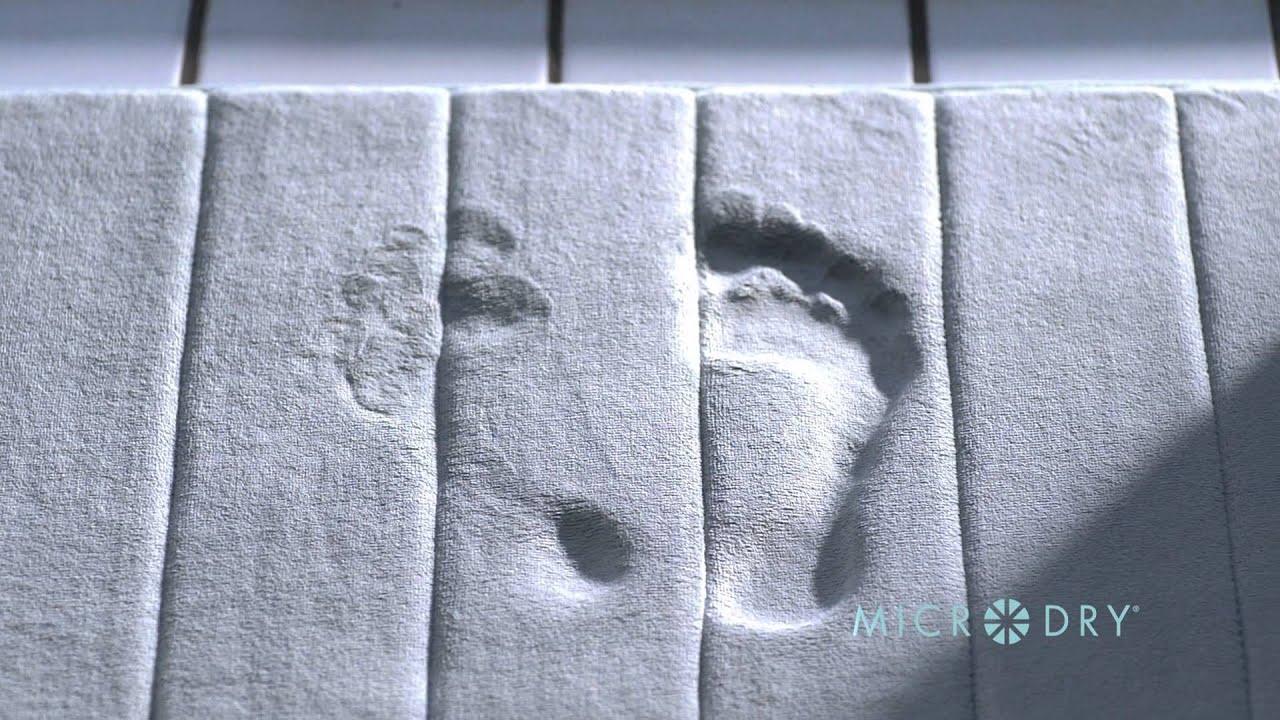 Inside The Microdry Memory Foam Bath Mat