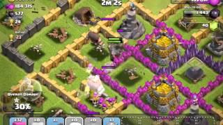 Clash of Clans Battle #4 - 1M Resources!